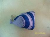 台南神奇拉鍊包→特製篇→(十九)→                           :特19-206-新作小巧粽(深藍+藍紫)