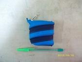 台南神奇拉鍊包→特製篇(39):特39-196-新作小零錢包(孔雀藍+深咖啡)