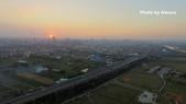 艾玩空拍2.0 (空拍專輯):20161225_頭前溪河濱公園夕照(精靈3首飛)