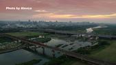 艾玩空拍2.5 (空拍專輯) :20180911_頭前溪橋落日列車