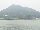 北台灣風景圖片:觀音山跟河景