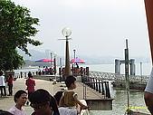 北台灣風景圖片:淡水渡船頭