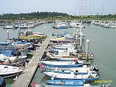 北台灣風景圖片:漁人碼頭港內船隻