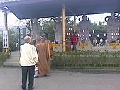三義佛頂山/苗栗南庄風景:三義佛頂山佛像與和尚