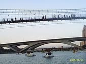北台灣風景圖片:碧潭吊橋