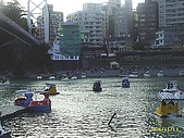 北台灣風景圖片:碧潭腳踏船風景
