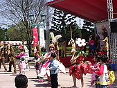 北台灣風景圖片:六福村遊樂園馬戲表演