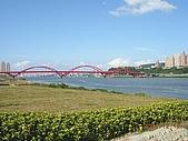 北台灣風景圖片:關渡大橋