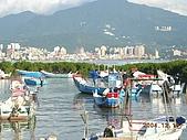 北台灣風景圖片:八里漁港