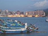 北台灣風景圖片:從八里左岸看淡水