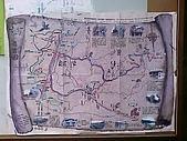 三義佛頂山/苗栗南庄風景:三義木雕風景區旅遊指示圖
