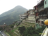 北台灣風景圖片:九份雞龍山