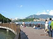 北台灣風景圖片:關渡淡水河邊天然釣場