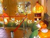 三義石門旅遊圖:三義客家庄內部花燈