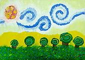 旋轉的風景:Jojo.11歲.梵谷 旋轉的風景 恩那藝術教育