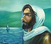 恩那老師的人像 Ana's Portrait:Oil Painting Of Jesus-ANA 恩那