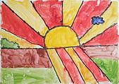 早安大地 / 動手做窗戶:早安大地 安妍 5歲  恩那藝術教育中心