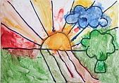 早安大地 / 動手做窗戶:早安大地 安妤 3歲  恩那藝術教育中心