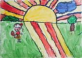 早安大地 / 動手做窗戶:早安大地 安捷 7歲  恩那藝術教育中心