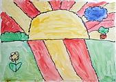 早安大地 / 動手做窗戶:早安大地 品卉 7歲  恩那藝術教育中心