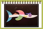 巧手玩環保-免洗碗河豚 免洗刀叉創作... ...:免洗刀鯊魚