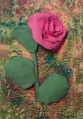 Paper Clay Art- Flowers, Leaves and Bugs:Paper Clay Art- Flowers, Leaves and Bugs