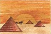 金字塔: 金字塔  sand paintings