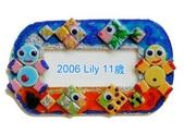 Mosaic Tiles Art 馬賽克磁磚創作:2006 Lily 11A / Mosaic Tiles Art 馬賽克面板