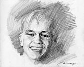 恩那老師的人像 Ana's Portrait:Jason Donovan-ANA 恩那