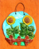 Paper Clay Art- Flowers, Leaves and Bugs:2006 David. Paper Clay Art- Flowers, Leaves and Bugs