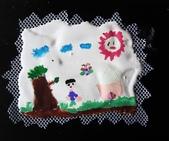 石膏立體創意:100-6-29 Babara