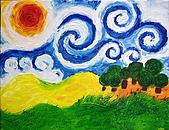 旋轉的風景:梵谷 旋轉的風景 恩那藝術教育