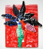 Paper Clay Art- Flowers, Leaves and Bugs:Elva. Paper Clay Art- Flowers, Leaves and Bugs
