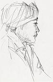 恩那老師的人像 Ana's Portrait:蠟筆-ANA 恩那