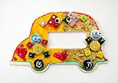 Mosaic Tiles Art 馬賽克磁磚創作:恩佳 6歲 Mosaic Tiles Art 馬賽克磁磚創作開關面板