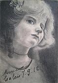 恩那老師的人像 Ana's Portrait:鉛筆-ANA 恩那