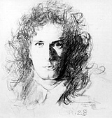 恩那老師的人像 Ana's Portrait:Michael Bolten-ANA 恩那