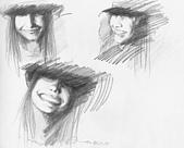 恩那老師的人像 Ana's Portrait:鉛筆 -ANA 恩那