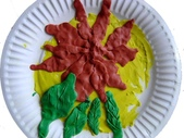 Paper Clay Art- Flowers, Leaves and Bugs:宜樺 Paper Clay Art- Flowers, Leaves and Bugs