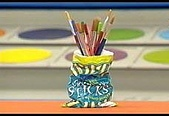 波浪的筆筒:crispbag pen and pencil holder