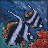 黏土版畫 Claybord :005神仙魚.jpg