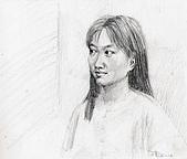 恩那老師的人像 Ana's Portrait:1990 2B -ANA 恩那