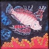黏土版畫 Claybord :012獅子魚.jpg