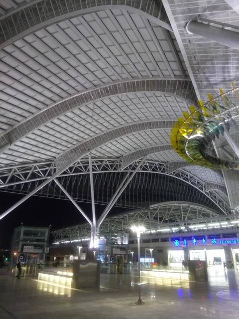 DSC_8861.JPG - 台中新火車站  夜色