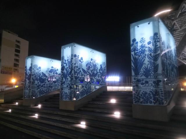 DSC_8864.JPG - 台中新火車站  夜色