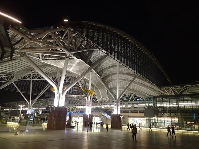 P4092818.JPG - 台中新火車站  夜色