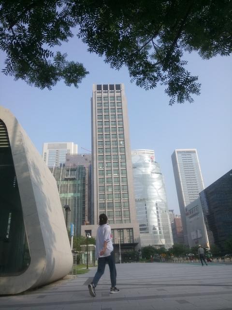DSC_1352.JPG - 台中  新市政大樓  晨光