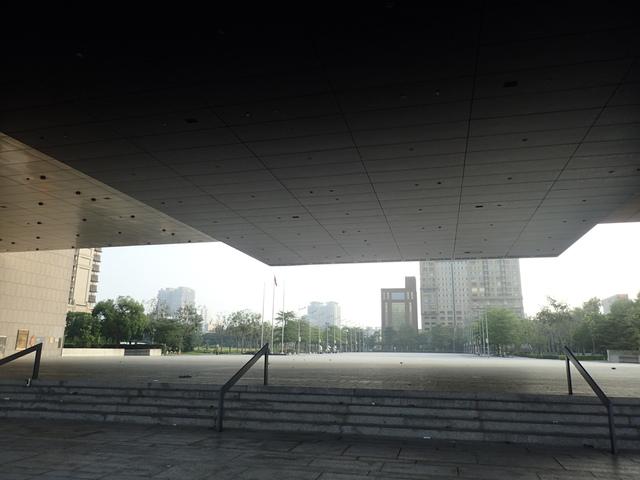 P5127440.JPG - 台中  新市政大樓  晨光