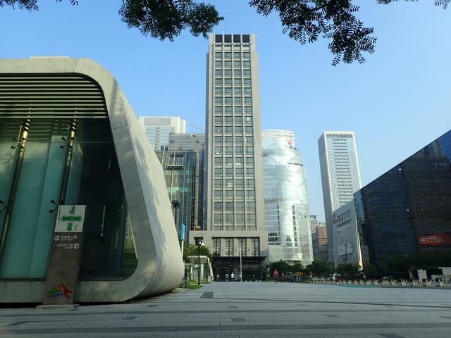 P5127499.JPG - 台中  新市政大樓  晨光
