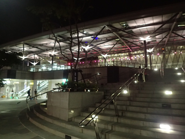 P9228122.JPG - 基隆  新火車站 夜景色
